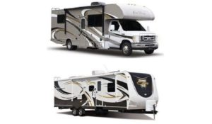 Class C RV or Travel Trailer
